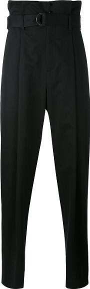 Aganovich , High Waisted Trousers Men Cotton 50, Black