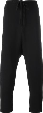 Alchemy , Drop Crotch Pants Men Cottonspandexelastane M, Black
