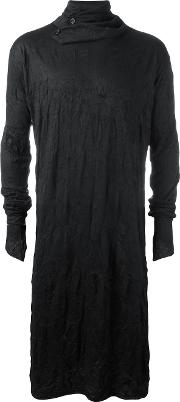 Alchemy , Long Tunic Men Cottonspandexelastane S, Black