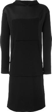 Alchemy , Longline Hoodie Men Cottonspandexelastane S, Black