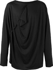 Alchemy , Twirl Effect T Shirt Men Cottonspandexelastane S, Black