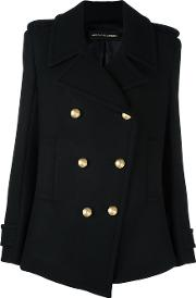 Alexandre Vauthier , Double Breasted Coat Women Polyamidepolyesterviscosewool M, Black
