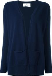 Allude , Cashmere Open Front Cardigan Women Cashmere S, Blue