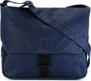 Ally Capellino , Bruno Messenger Bag Men Canvas One Size, Blue