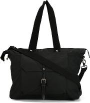 Ally Capellino , 'teddy' Holdall Women Cottonleather One Size, Black