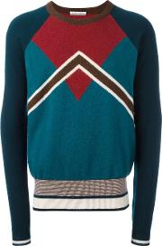 Andrea Pompilio , Crew Neck Jumper Men Virgin Wool 46, Green