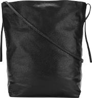 Ann Demeulemeester , Cross Body Bucket Bag Women Calf Leather One Size, Black