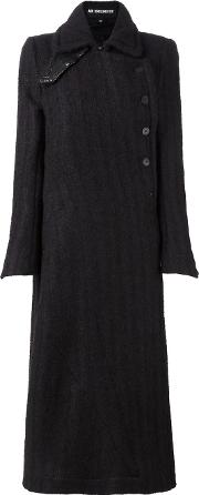 Ann Demeulemeester , Double Breasted Coat Women Polyestercottonmohairrayon 34, Brown