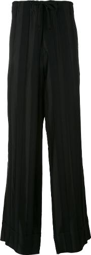 Ann Demeulemeester Grise , Loose Fit Trousers Men Rayonwool S, Black