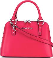 Armani Jeans , Zipped Tote Women Cottonpolyesterpolyurethaneviscose One Size, Red