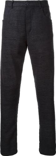 Assin , Five Pocket Tapered Trousers Men Silklinenflax M, Black