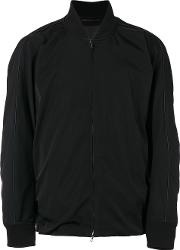 Attachment , Loose Fit Bomber Jacket Men Polyesterrayon I, Black