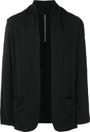 Attachment , Shawl Lapel Cardigan Men Cotton Iii, Black
