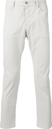 Attachment , Skinny Cropped Jeans Men Cottonnylonpolyurethane Iii, Nudeneutrals