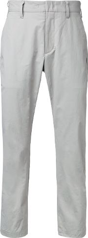 Attachment , Skinny Trousers Men Cottonnylonpolyurethane 1, Grey