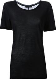 Avelon , 'lithe' T Shirt Women Cotton Xxs, Black