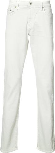 Baldwin , Henley Fit Jeans Men Cottonspandexelastane 30, White