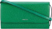 Bally , Flap Shoulder Bag Women Leather One Size, Green