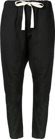 Bassike , Slub Relaxed Pants Women Cottonlinenflax 14, Black