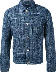 Bellerose , Check Shirt Jacket Men Cottonlinenflax M, Blue