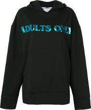Brashy , Adults Only Sweatshirt Women Cotton Xs, Black