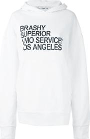 Brashy , Hoodie Women Cotton S, White