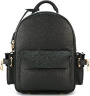 Buscemi , Mini Backpack Men Calf Leather One Size, Black