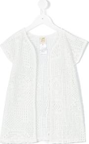 Caffe Dorzo , Caffe' D'orzo Norma Open Top Kids Cottonpolyamide 8 Yrs, White
