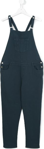 Caffe Dorzo , Caffe' D'orzo Penelope Dungarees Kids Cotton 16 Yrs, Blue