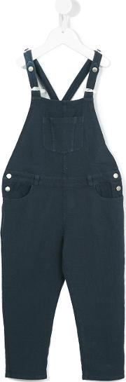 Caffe Dorzo , Caffe' D'orzo Penelope Dungarees Kids Cotton 4 Yrs, Blue