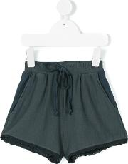 Caffe Dorzo , Caffe' D'orzo Prisca Shorts Kids Cottonspandexelastanemicromodal 6 Yrs, Grey