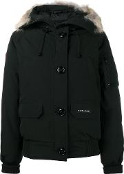 Canada Goose , Zipped Hooded Coat Women Cottonpolyesternylonfeather Down Xs, Black