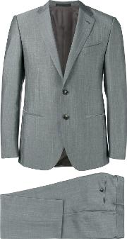 Caruso , Formal Suit Men Silkmohairwoolcupro 52, Grey