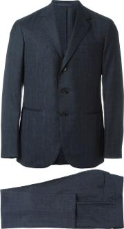 Caruso , Two Piece Suit Men Cuprowoolbemberg 54, Blue