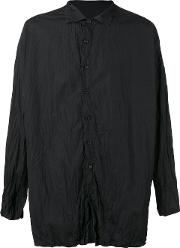 Casey Casey , Crisp Shirt Men Cotton S, Black