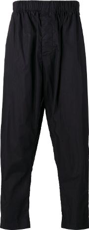 Casey Casey , Cropped Trousers Men Cotton Xl, Black