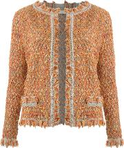 Cecilia Prado , Knit Cardigan Women Acryliclurexpolyamide P, Orange