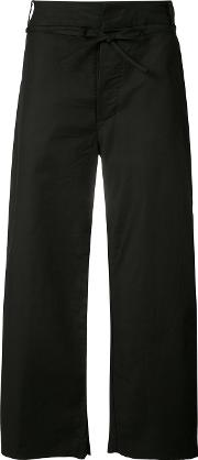 Chapter , Cropped Trousers Men Cottonspandexelastane 36, Black