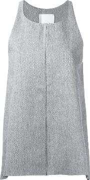 Charlie May , Classic Tank Top Women Cotton 10, Grey