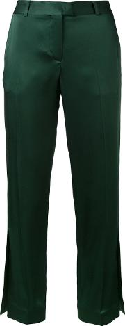 Christopher Kane , 'cady' Trousers Women Viscoseacetate 42, Green