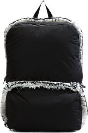 Christopher Raeburn , Lightweight Fringed Backpack Men Cottonpolyester One Size, Black