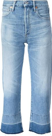 Citizens Of Humanity , Cropped Jeans Women Cottonrayon 26, Blue