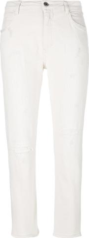 Closed , Skinny Jeans Women Cottonpolyesterspandexelastane 30, White