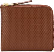 Comme Des Garcons Wallet , 'luxury Group' Purse Unisex Leather One Size, Brown