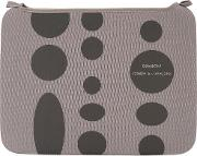 Comme Des Garcons Wallet , Polka Dot Wallet Men Nylon 12 One Size, Grey