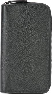 Common Projects , All Around Zip Wallet Men Calf Leather One Size, Black