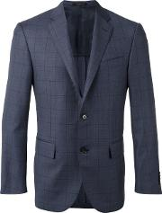Corneliani , Classic Blazer Men Cuprovirgin Wool 52, Blue