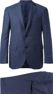 Corneliani , Two Piece Suit Men Cuprovirgin Wool 50, Blue
