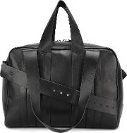 Corto Moltedo , Corto Moltedo 'costanza New Zip' Tote Women Nappa Leathercanvas One Size, Black