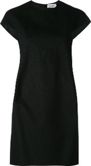 Courreges , Cut Out Dress Women Elastodienepolyesterviscose 36, Black